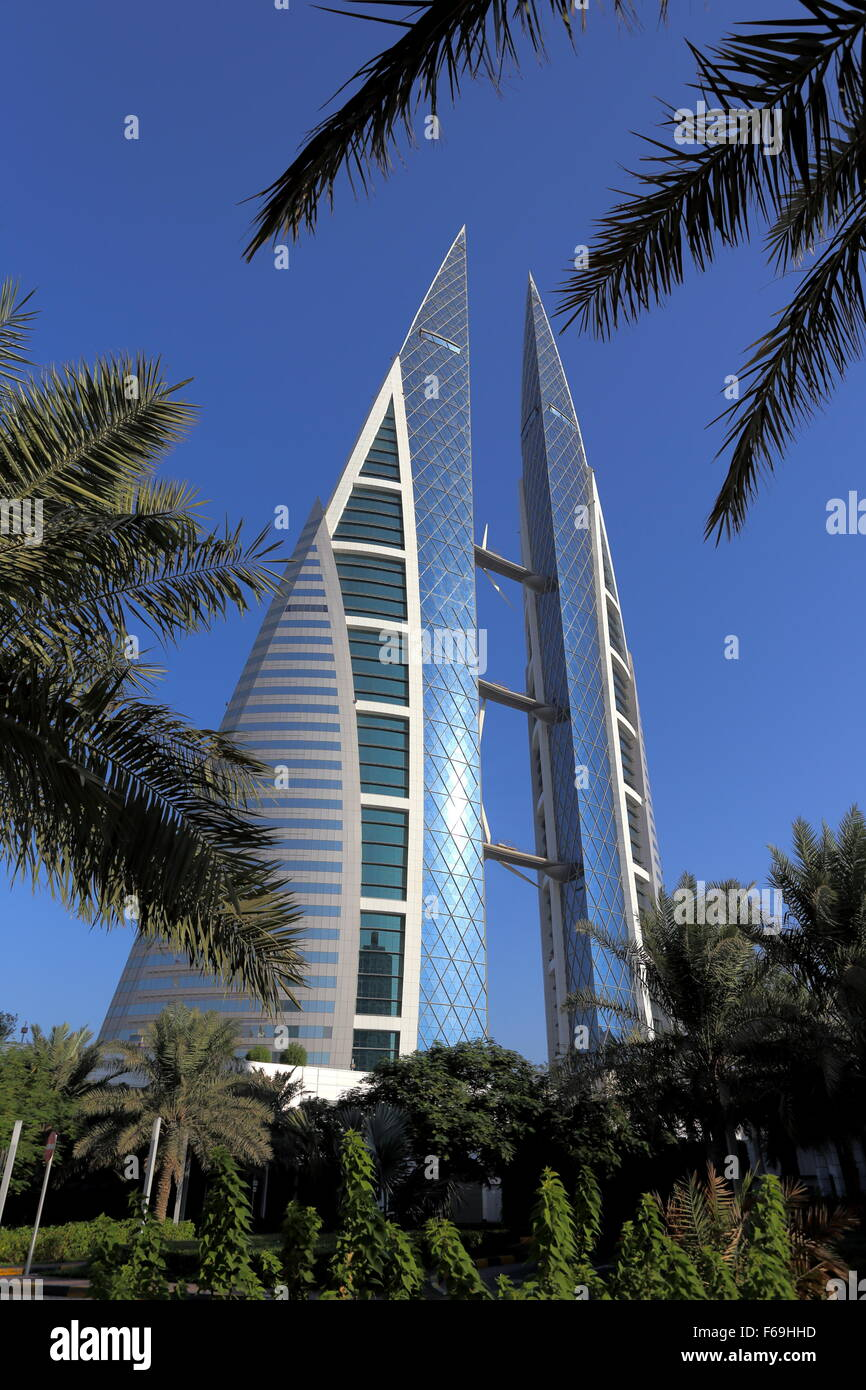 World Trade Centre, Manama, Kingdom of Bahrain - Stock Image