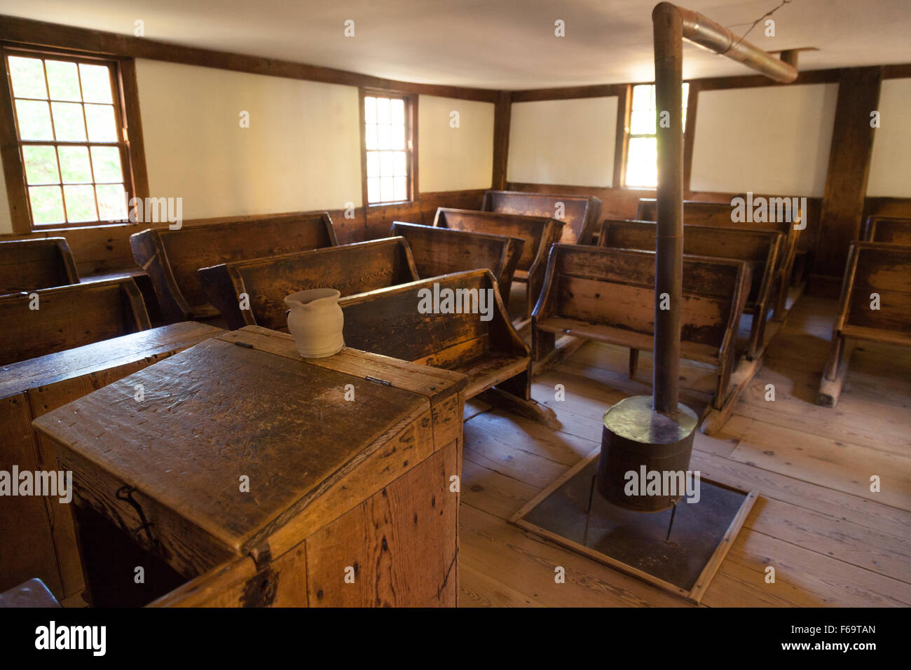 19th Century School House Old Sturbridge Village Living