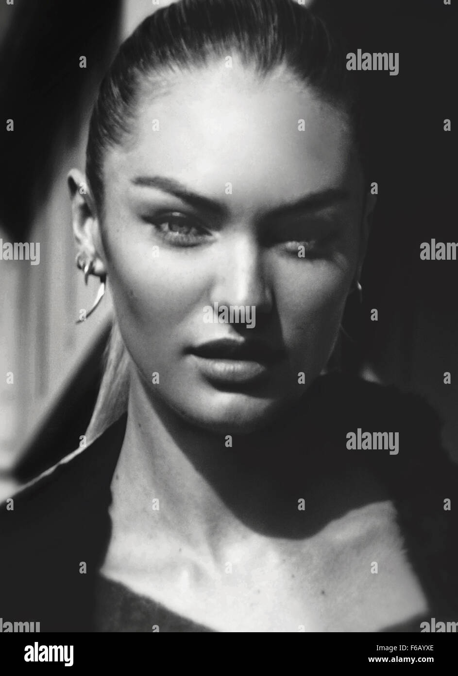 Candice Swanepoel - Stock Image