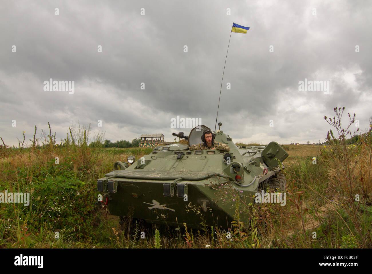 Baptism of Ukrainian armored boats on the Sea of Azov