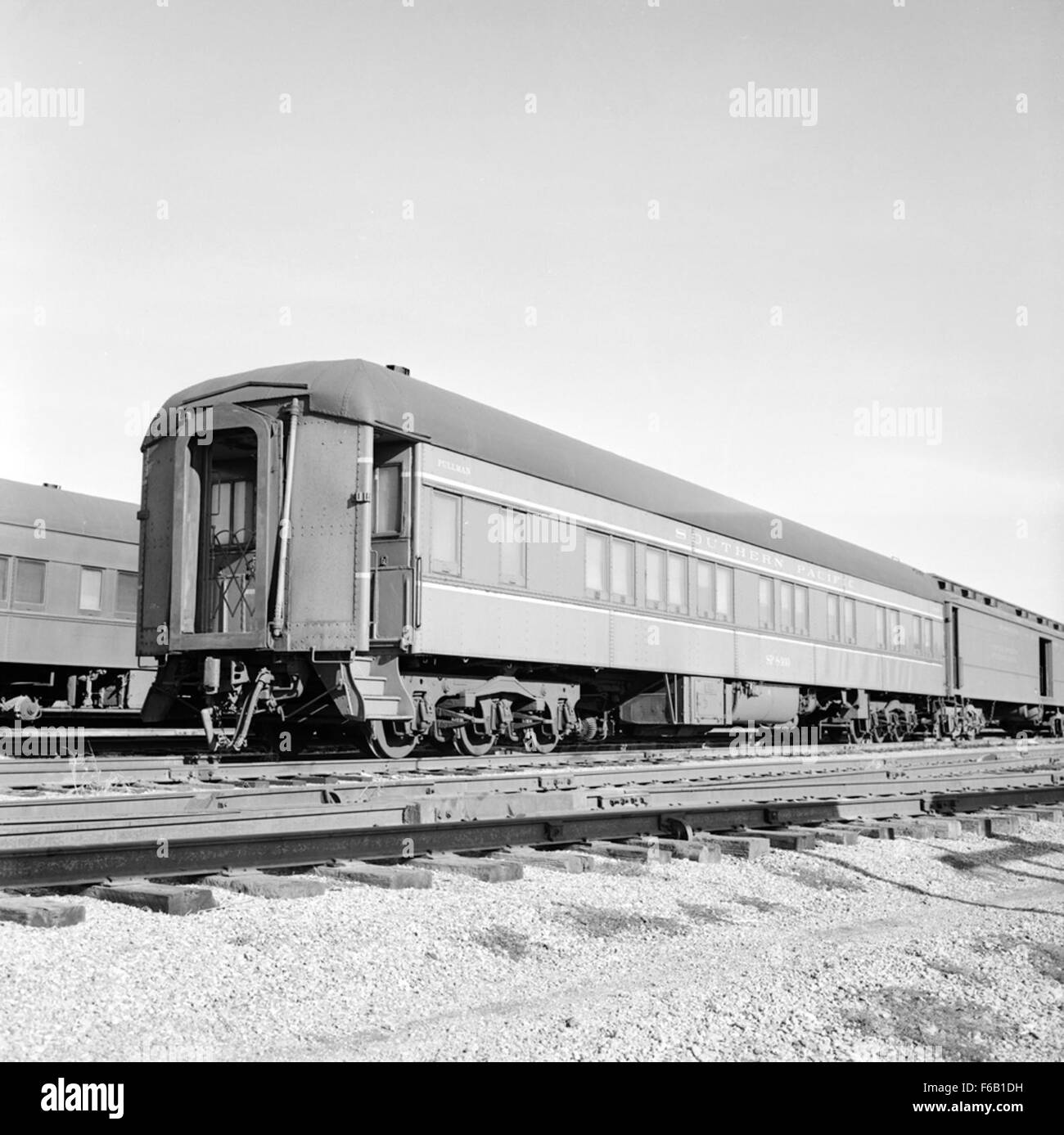 [Southern Pacific, Pullman Sleeping Car No. 8400] - Stock Image
