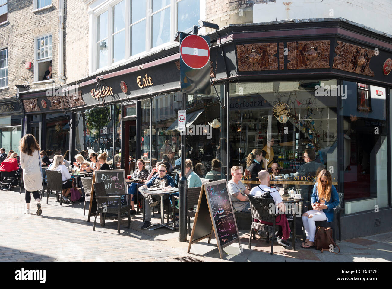 Chocolate Cafe Guildhall Street Canterbury Kent England