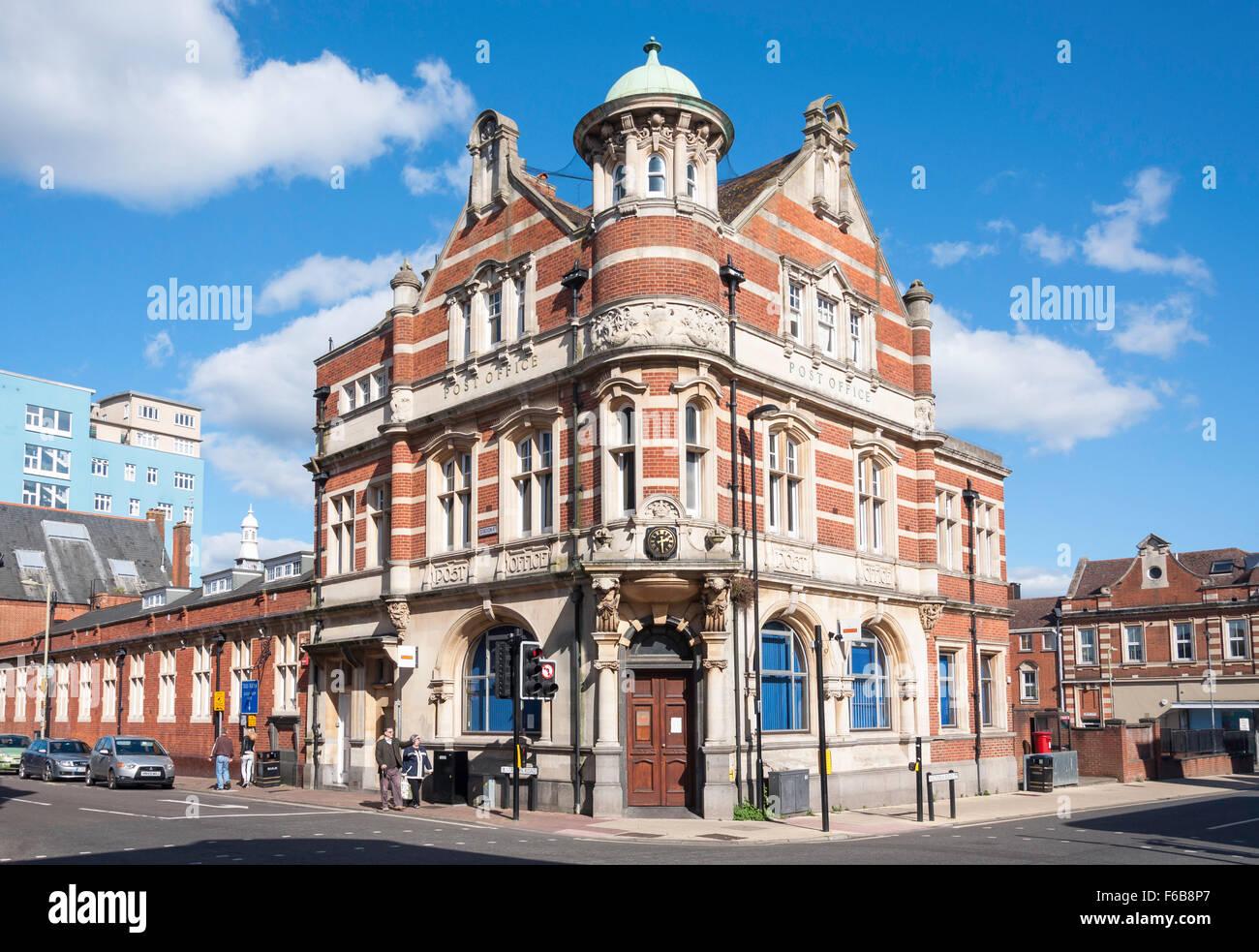 old post office building station road aldershot hampshire stock