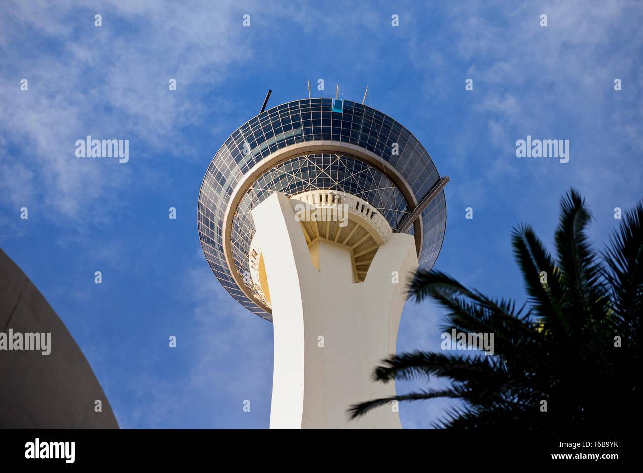 Stratosphere Hotel and Casino in Las Vegas Nevada - Stock Image