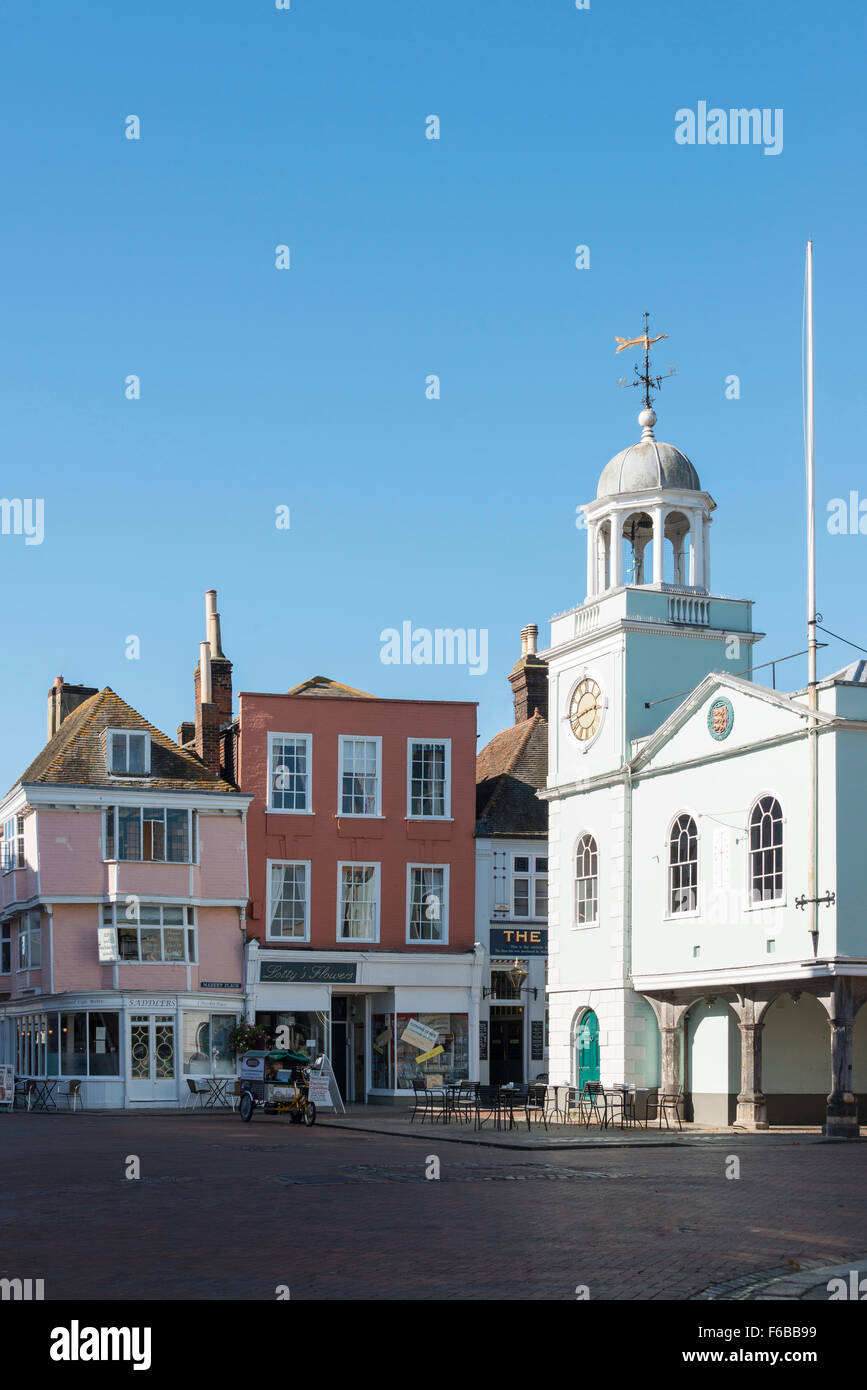 Guildhall, Market Place, Faversham, Kent, England, United Kingdom Stock Photo