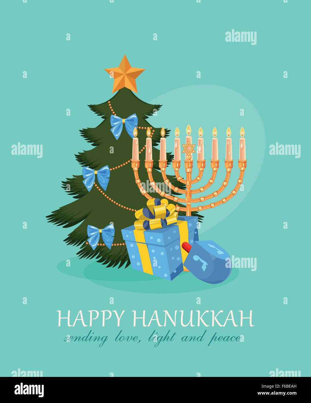 Happy hanukkah greeting card design jewish holiday vector stock happy hanukkah greeting card design jewish holiday vector illustration m4hsunfo