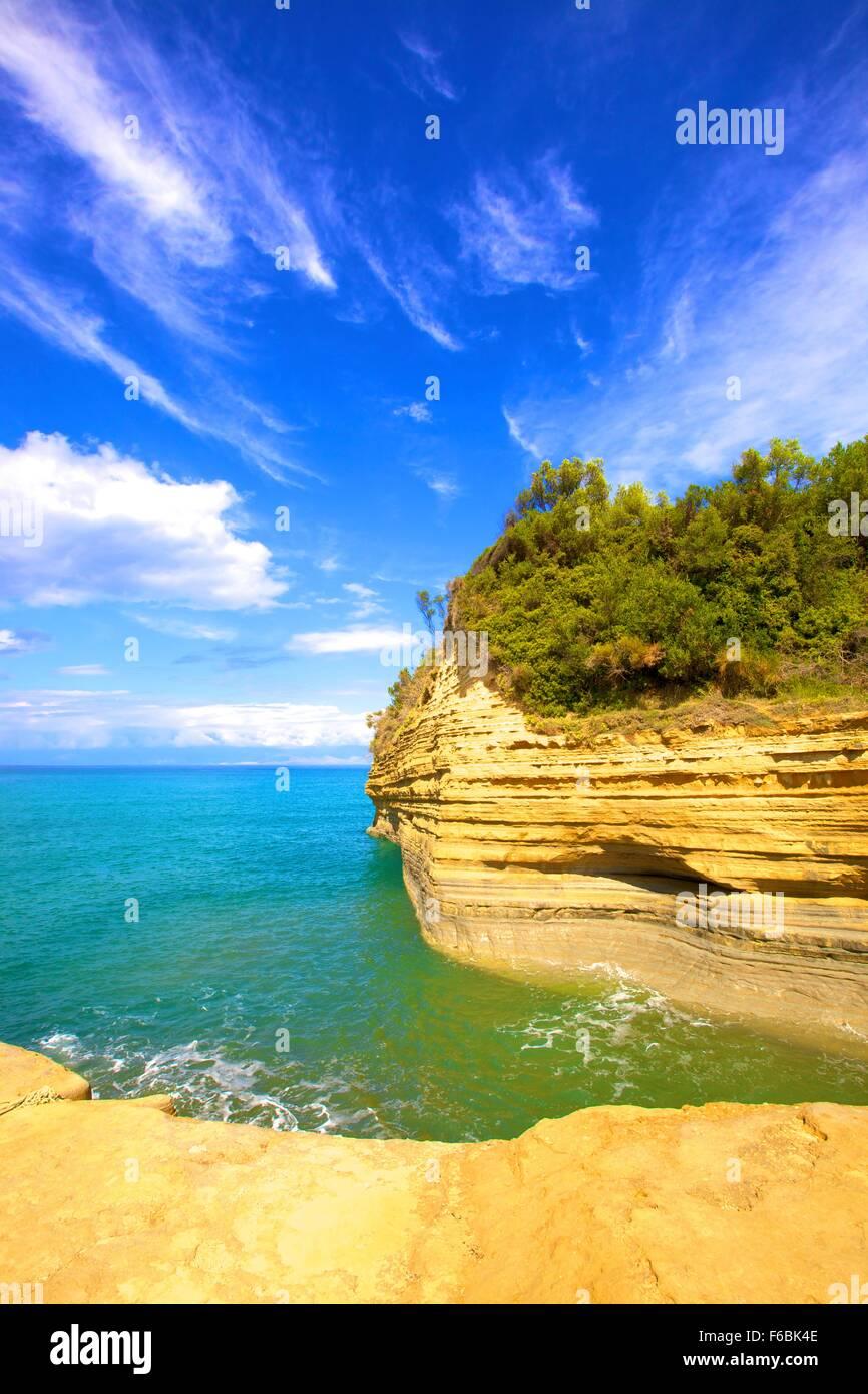 Sidari, Corfu, The Ionian Islands, Greek Islands, Greece, Europe Stock Photo