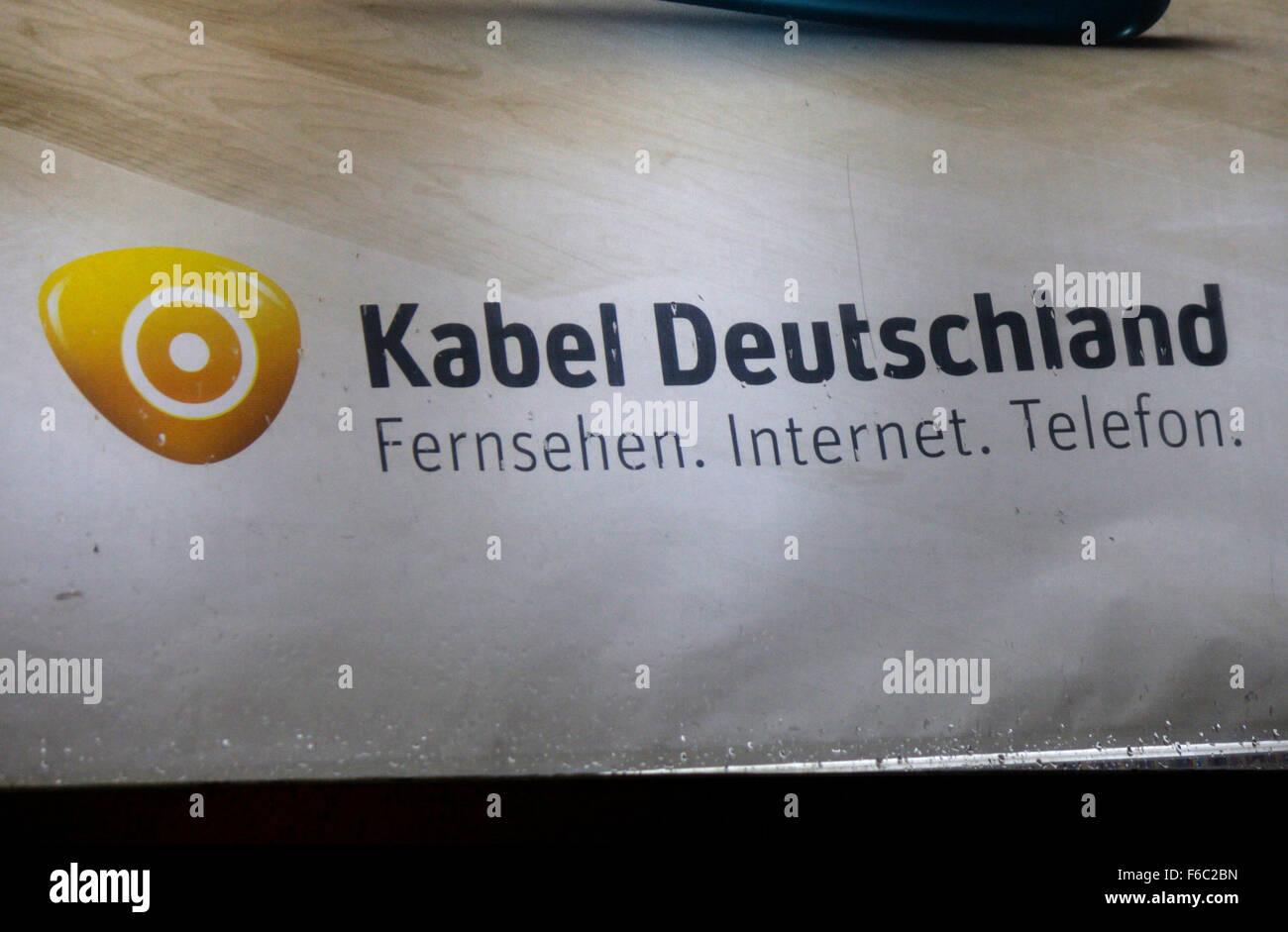 """Markenname: """"Kabel Deutschland"""", Berlin. Stock Photo"""