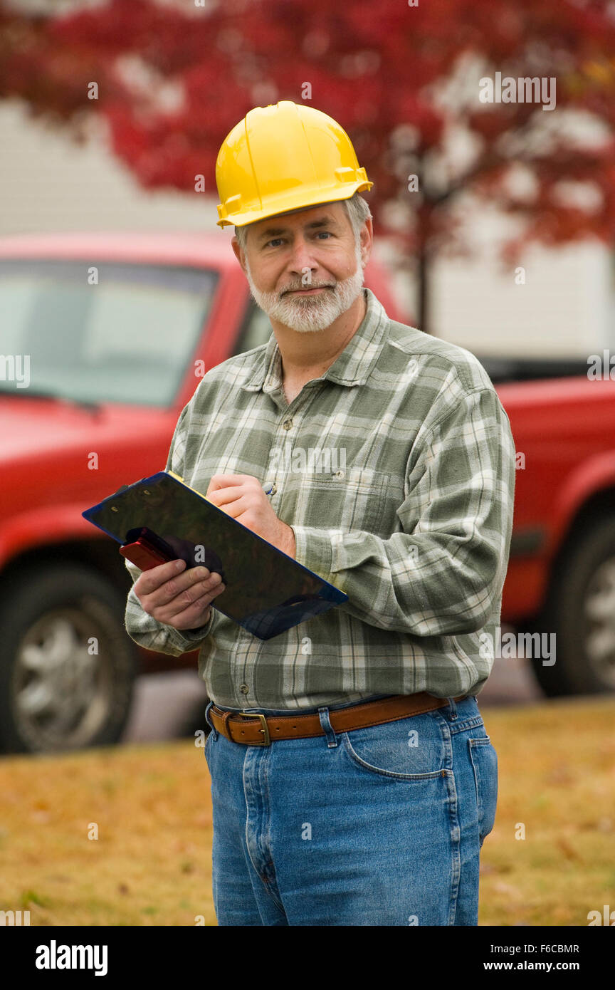 Construction Foreman - Stock Image