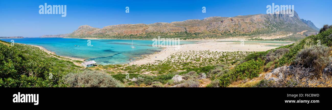 Lagune von Balos, Kreta, Lagoon of Balos, Crete - Stock Image