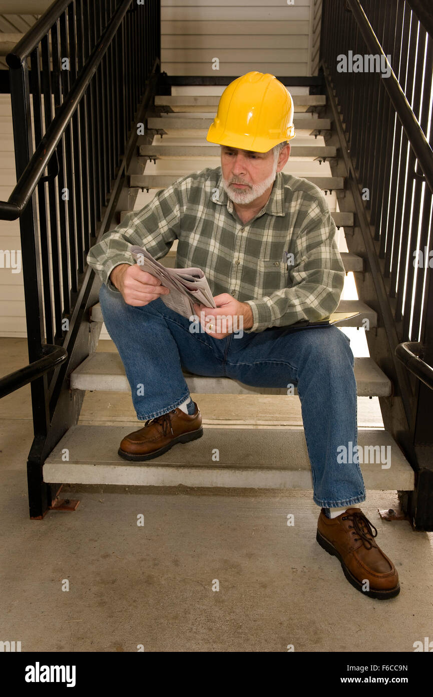 Looking For Work - Stock Image
