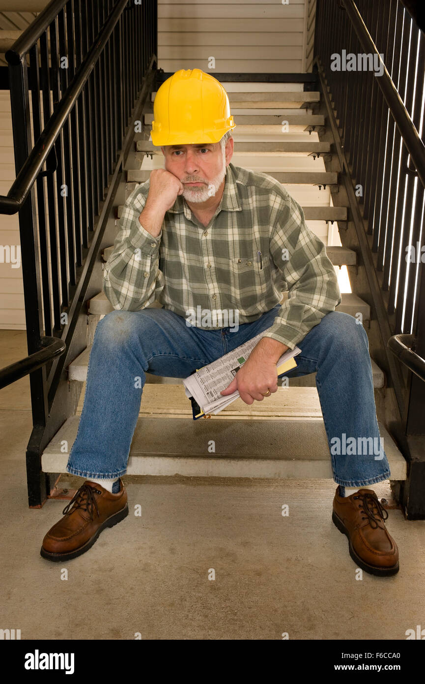 Nobody is Hiring - Stock Image