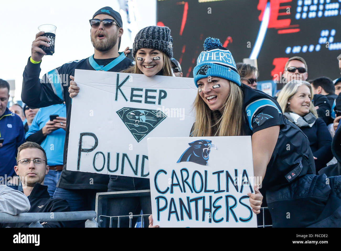 carolina panthers women fans