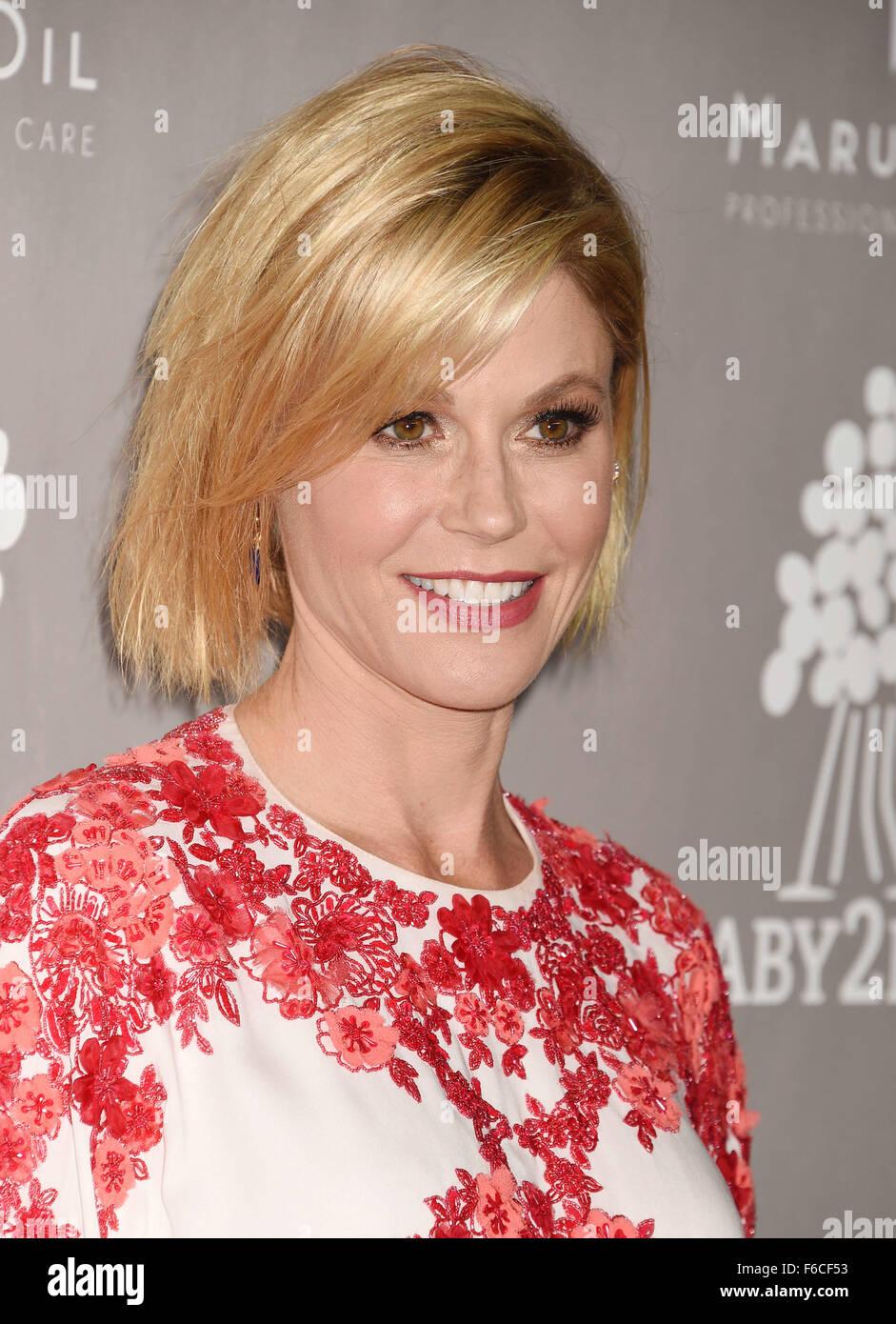 JULIE BOWEN US film actress in November 2015. Photo Jeffrey Mayer - Stock Image