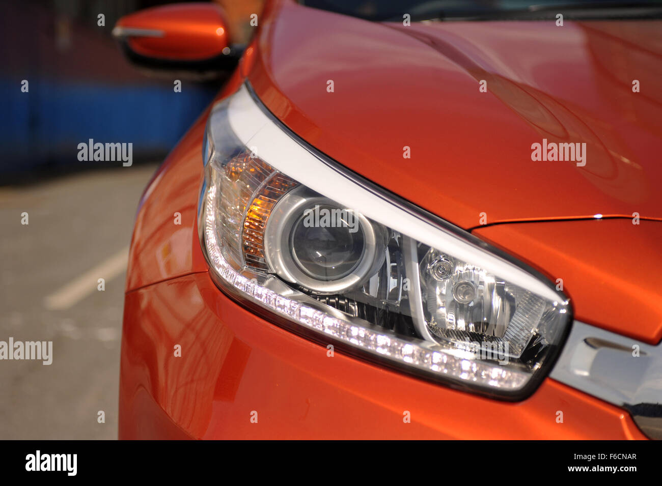 Kia Pro Ceed Stock Photo