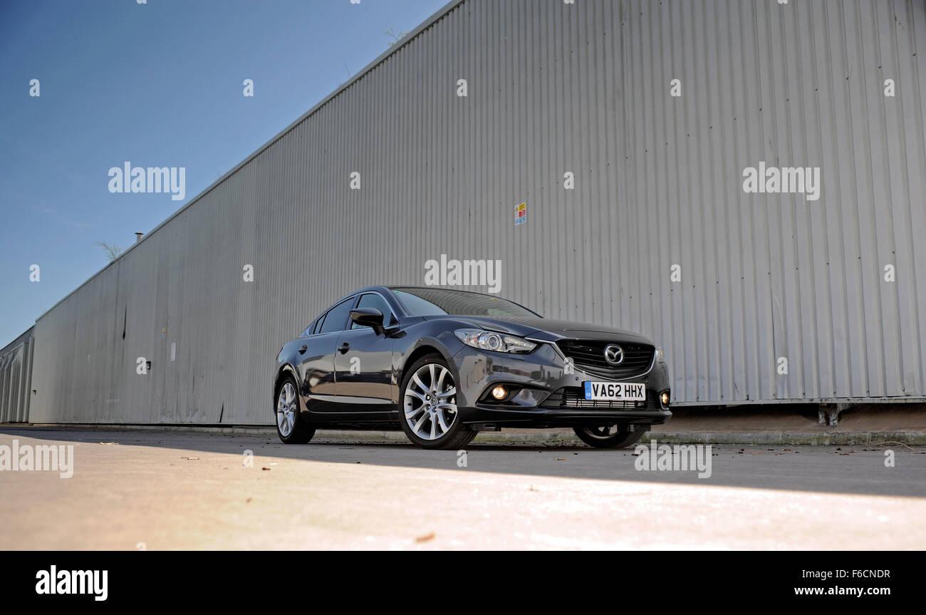 Mazda6 2.2D Saloon Sport Nav Auto - Stock Image