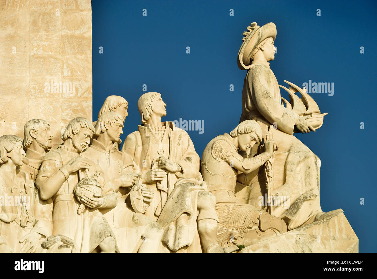 Monument to the Discoveries. Lisbon. Portugal. Europe. - Stock Image