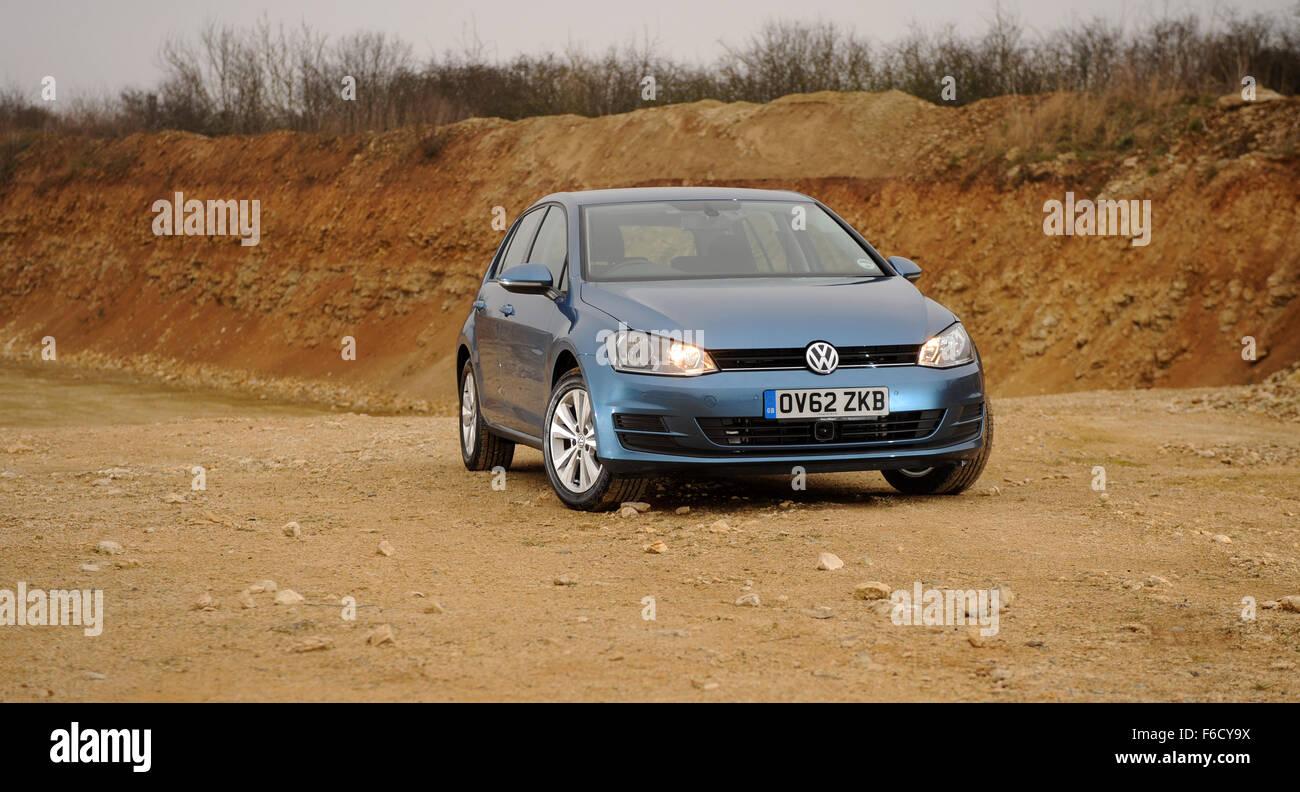 Volkswagen Golf SE 2.0-litre TDI 150 PS - Stock Image