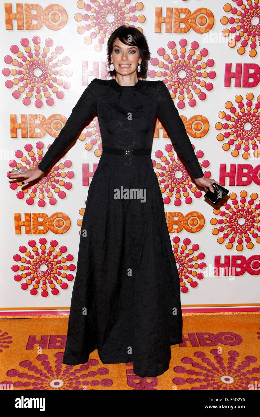 WEST HOLLYWOOD, CALIFORNIA - Sunday September 18, 2011. Lena Heady at the HBO's 2011 Emmy After Party held at - Stock Image