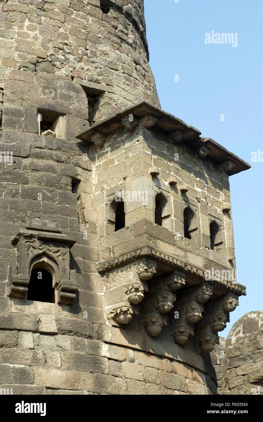 Daulatabad fort, aurangabad, maharashtra, india, asia Stock Photo