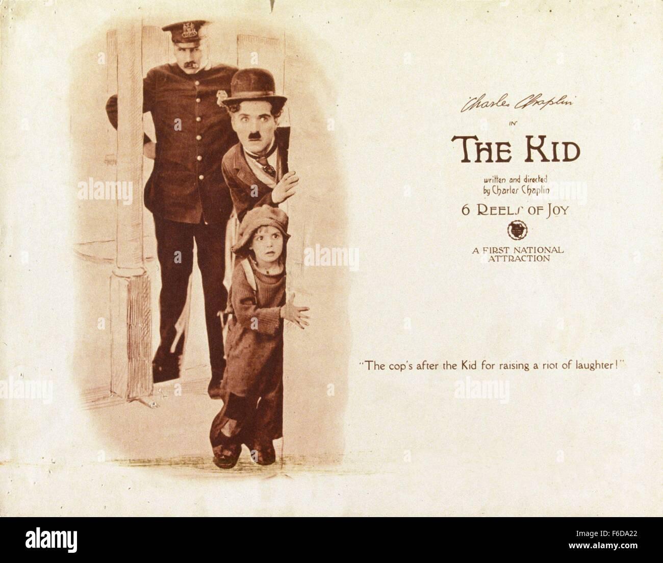 The Kid 1921 Charlie Chaplin Stock Photos & The Kid 1921