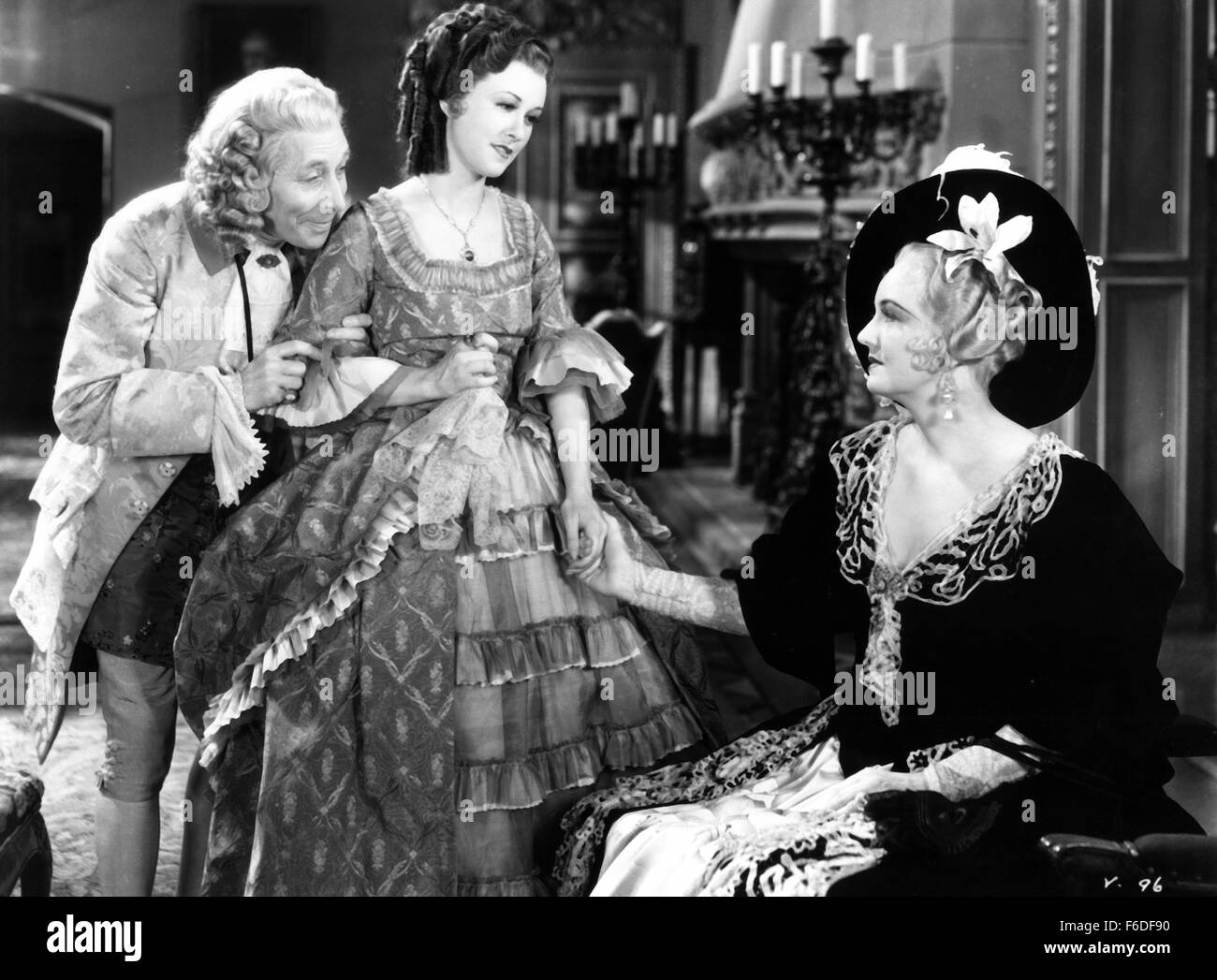 RELEASE DATE: August 5, 1933. MOVIE TITLE: Voltaire. STUDIO: Warner Bros. Pictures. PLOT: Writer and philosopher - Stock Image