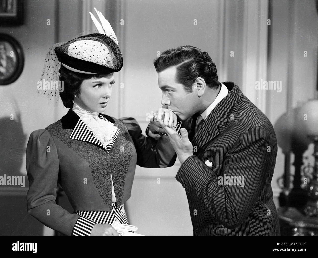RELEASED: Aug 24, 1950 - Original Film Title: The Toast of New Orleans. PICTURED: KATHRYN GRAYSON and MARIO LANZA. - Stock Image