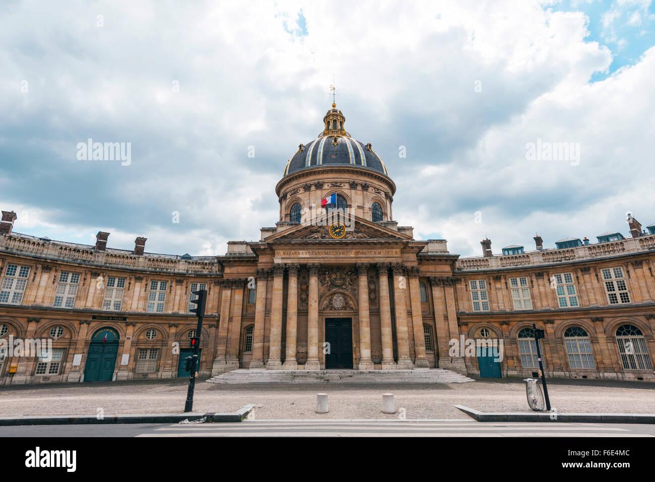 Institut de France, Paris, Ile-de-France, France - Stock Image
