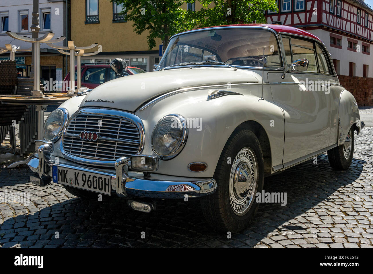 Oldtimer Auto Union DKW 1000 S de Luxe coupe, built 1959-1963, Nidda, Hesse, Germany - Stock Image