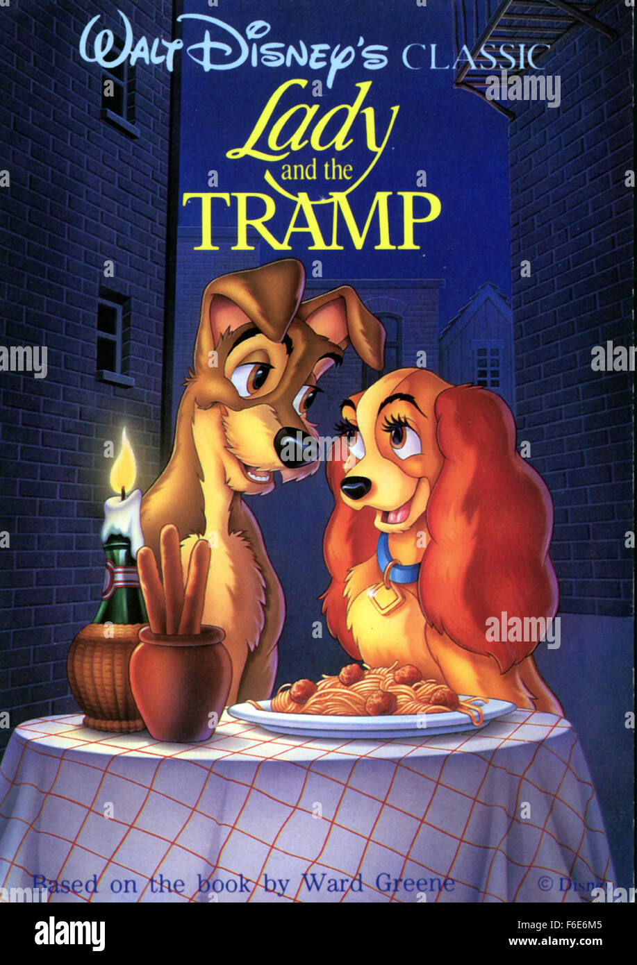 Lady And The Tramp 1955 High Resolution Stock Photography And Images Alamy