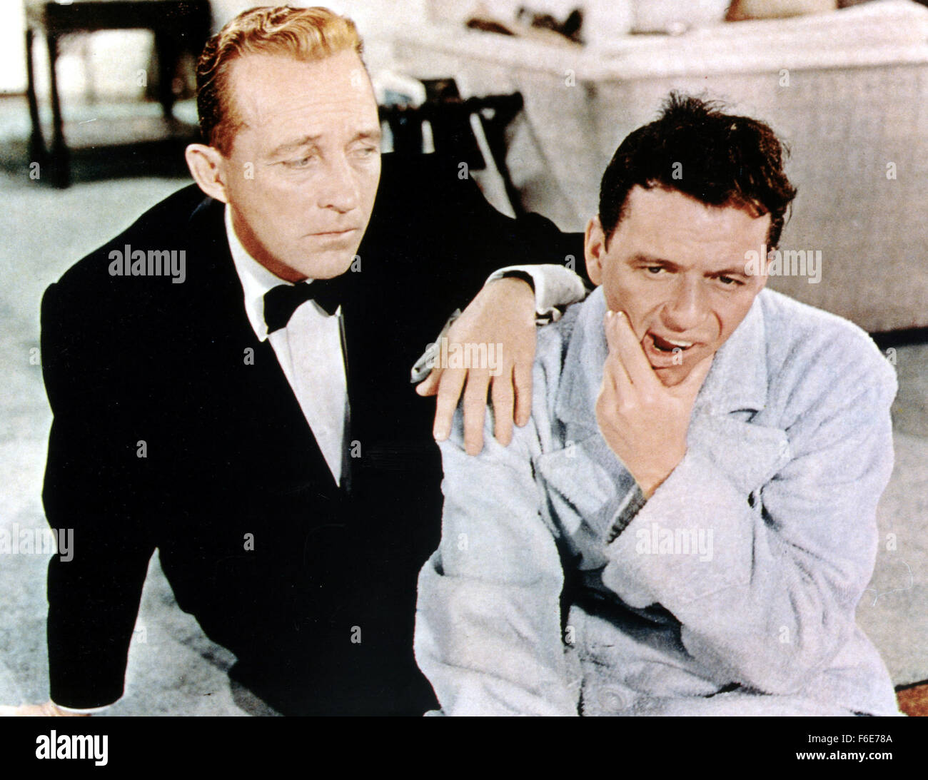 RELEASE DATE: July 17, 1956. MOVIE TITLE: High Society. STUDIO: Metro-Goldwyn-Mayer (MGM). PLOT: C.K. Dexter-Haven, - Stock Image