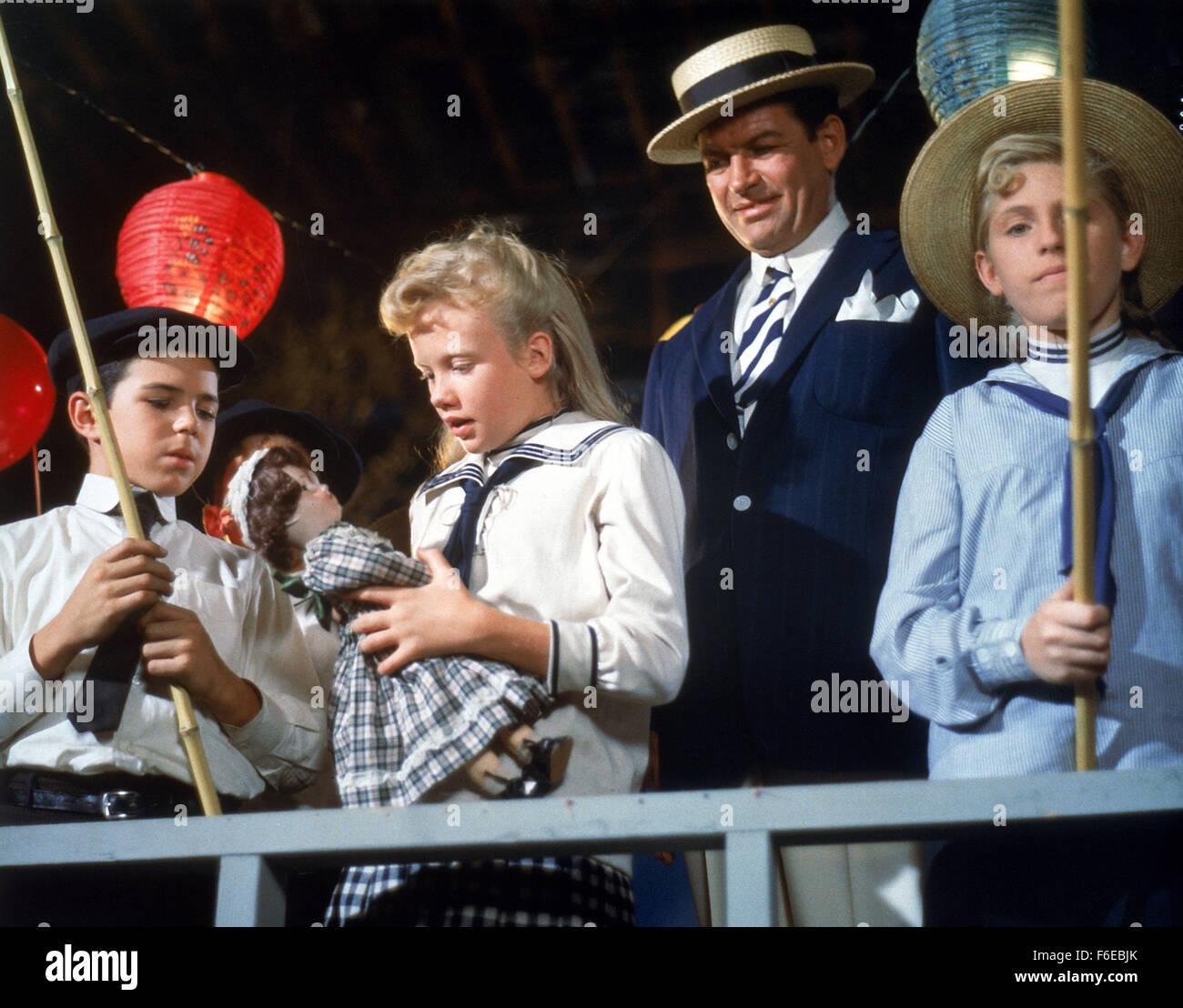 May 19, 1960; Santa Rosa, CA, USA; HAYLEY MILLS stars as Pollyanna Whittier in the family comedy/drama 'Pollyanna' - Stock Image