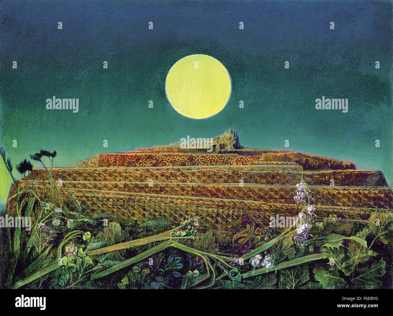Max Ernst - The Entire City - Stock Image