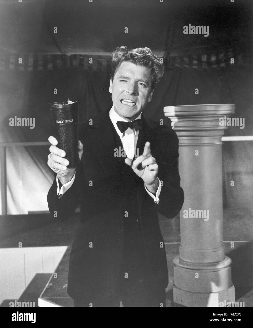Jul 07, 1960; Hollywood, CA, USA; Actor BURT LANCASTER stars as Elmer Gantry in the Richard Brooks directed drama, - Stock Image