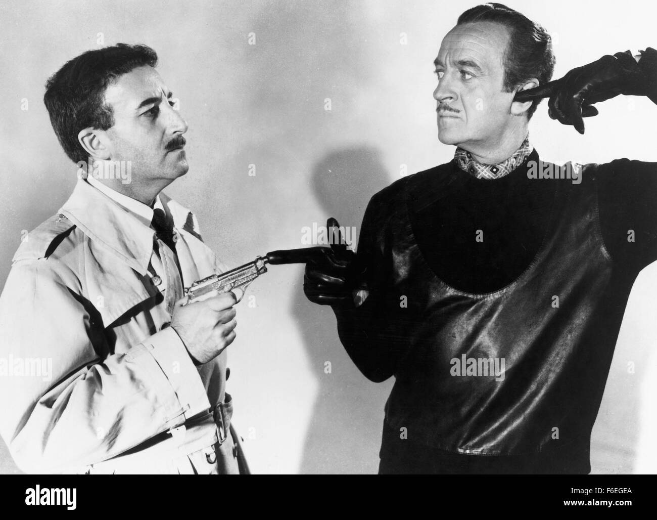 e6f0c56e5f74 Feb 20, 1964; Hollywood, CA, USA; Image from director Blake Edwards' crime  comedy 'The Pink Panther' starring DAVID NIVEN as Sir Charles Lytton and  PETER ...