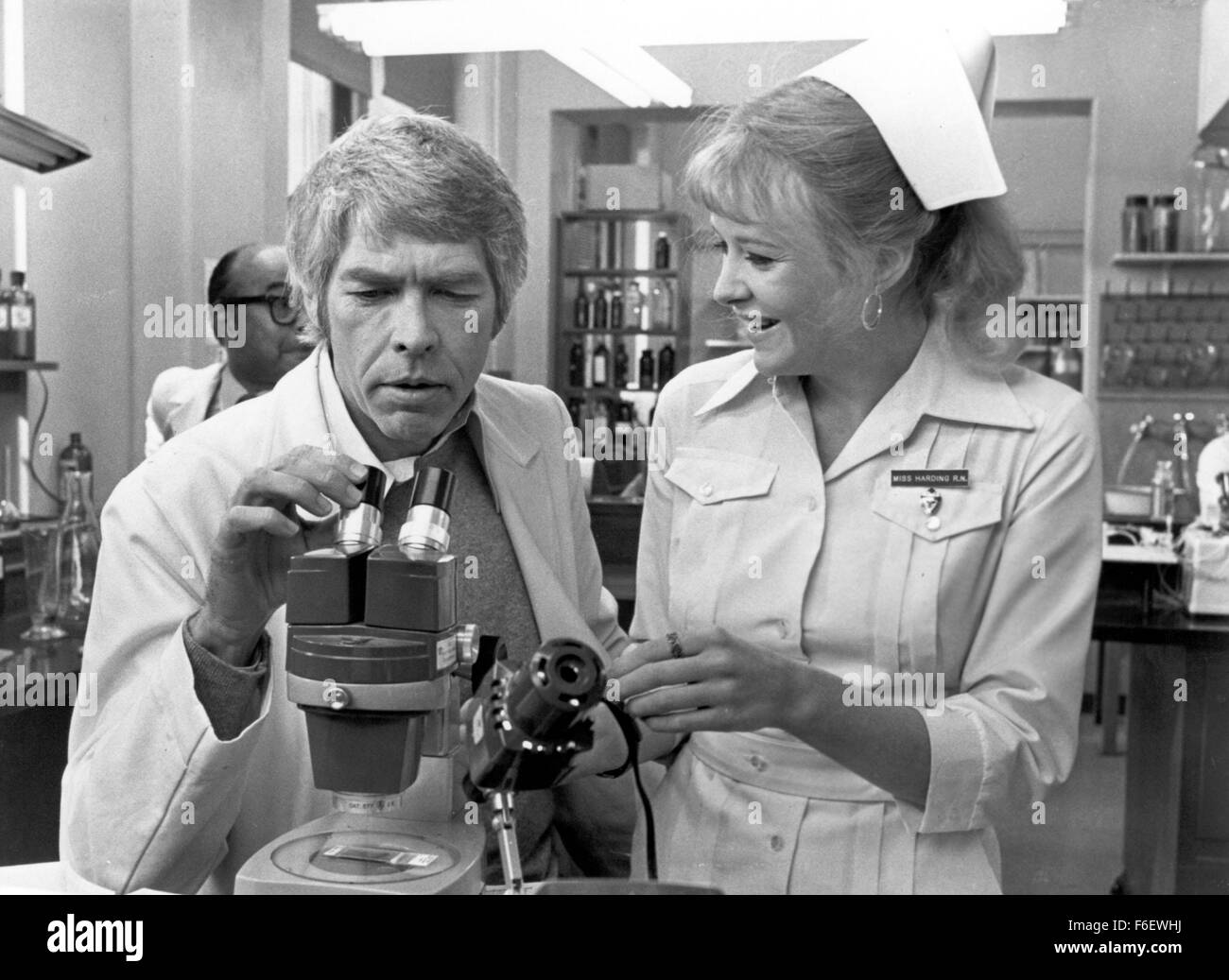 Mar 29, 1972; Boston, MS, USA; Actor JAMES COBURN as Dr. Peter Carey in 'The Carey Treatment'. Directed - Stock Image