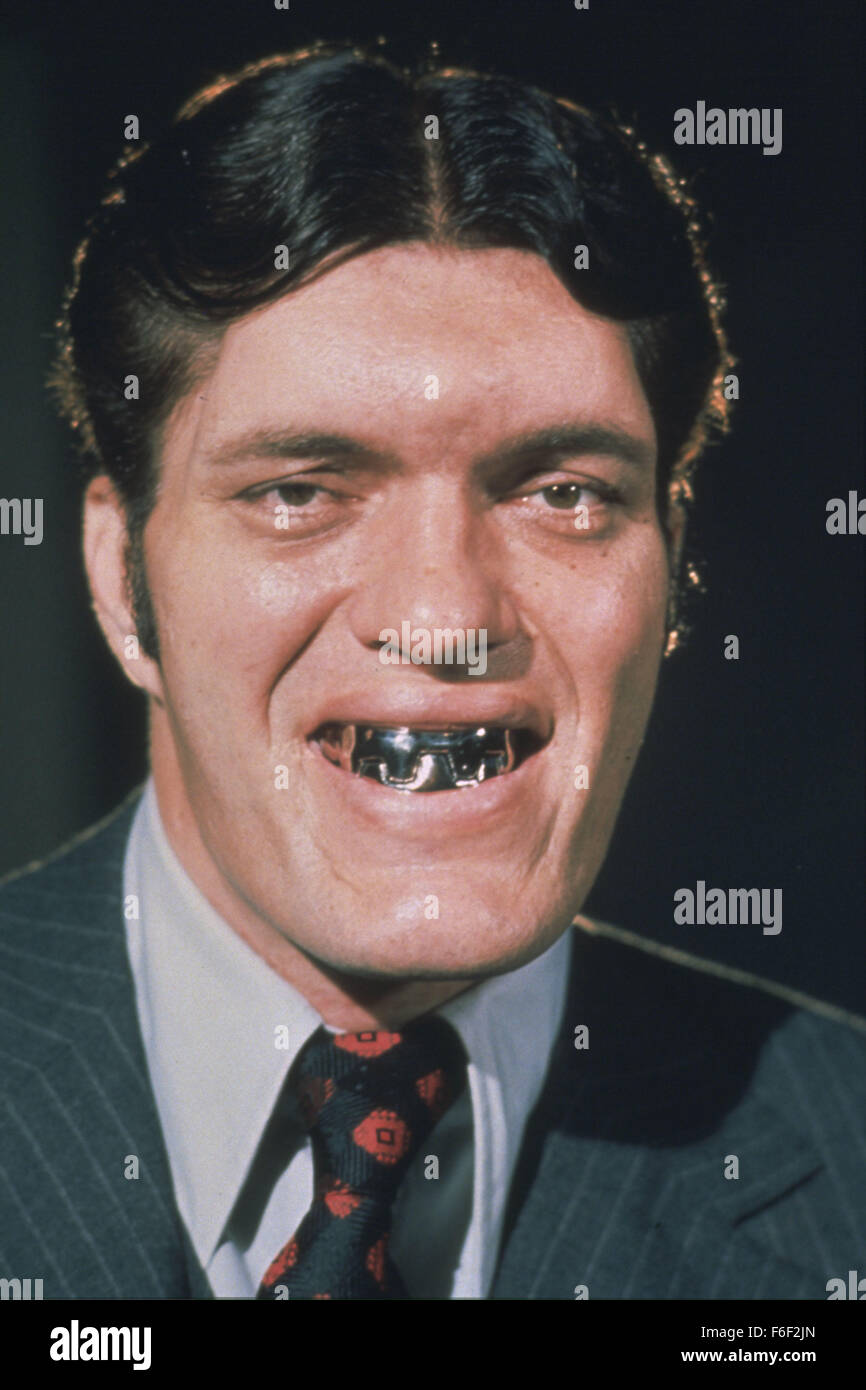 Jul 07, 1977; London, UK; Actor RICHARD KIEL stars as Jaws in the film version of writer Ian Fleming's, 'The - Stock Image