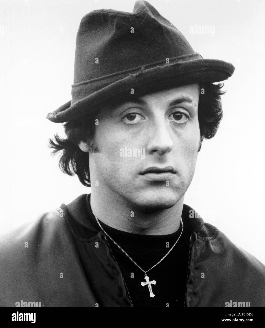 Jun 15, 1979; Philadelphia, PA, USA; SYLVESTER STALLONE as Rocky Balboa in the action, sport, drama 'Rocky II' - Stock Image