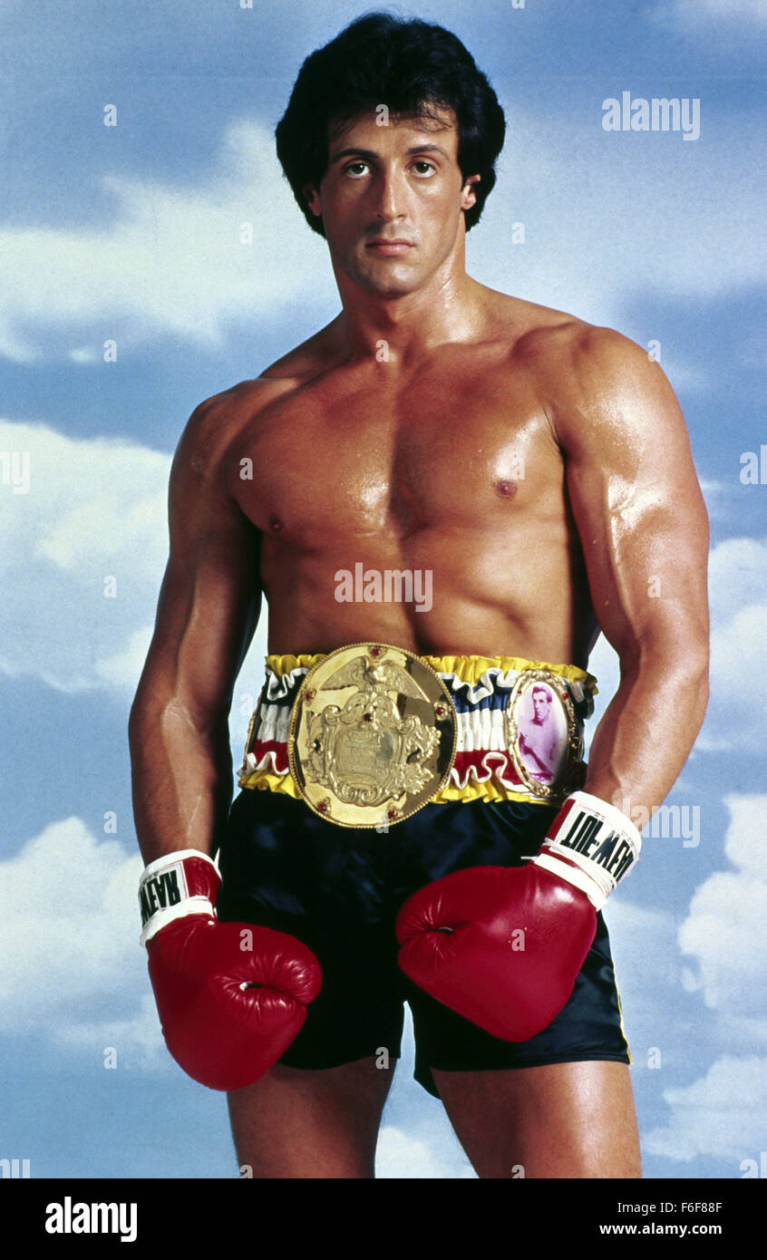 RELEASE DATE: May 28, 1982  MOVIE TITLE: Rocky III  DIRECTOR: Sylvester Stallone  STUDIO: United Artists  PLOT: - Stock Image