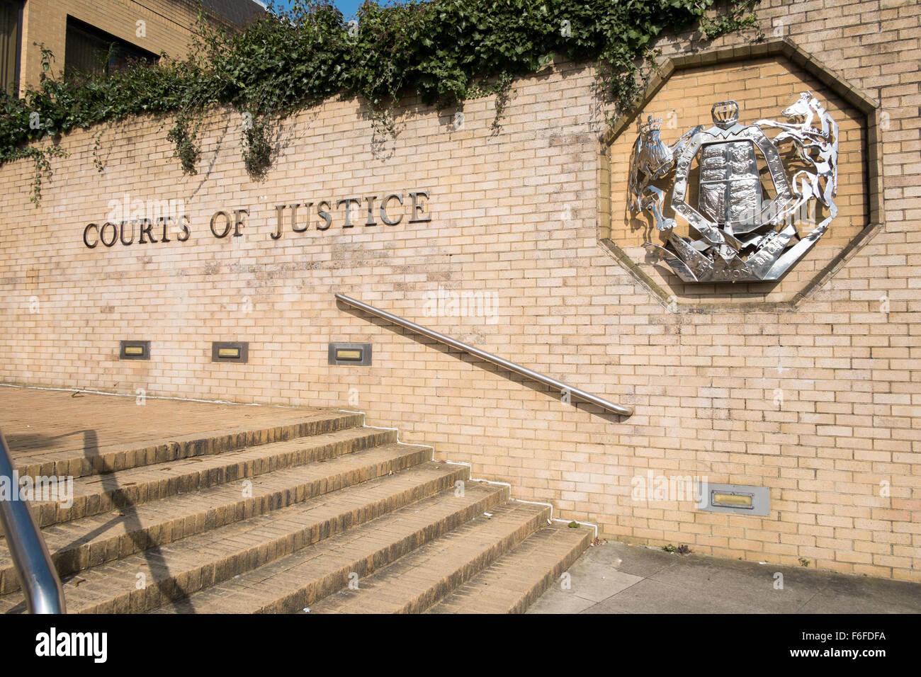 Southampton Crown Court , London Road Southampton United Kingdom. - Stock Image