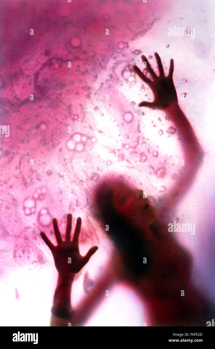 Aug 07, 1988; Hollywood, CA, USA; Scene of the horror sci-fi movie 'The Blob' directed by Chuck Russell. - Stock Image