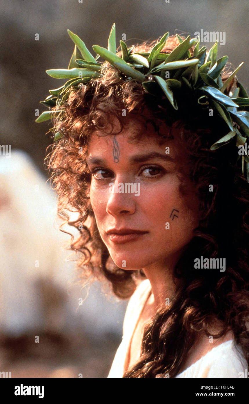RELEASE DATE: Aug 12, 1988. MOVIE TITLE: The Last Temptation of Christ. STUDIO: Universal Pictures. PLOT: The carpenter - Stock Image