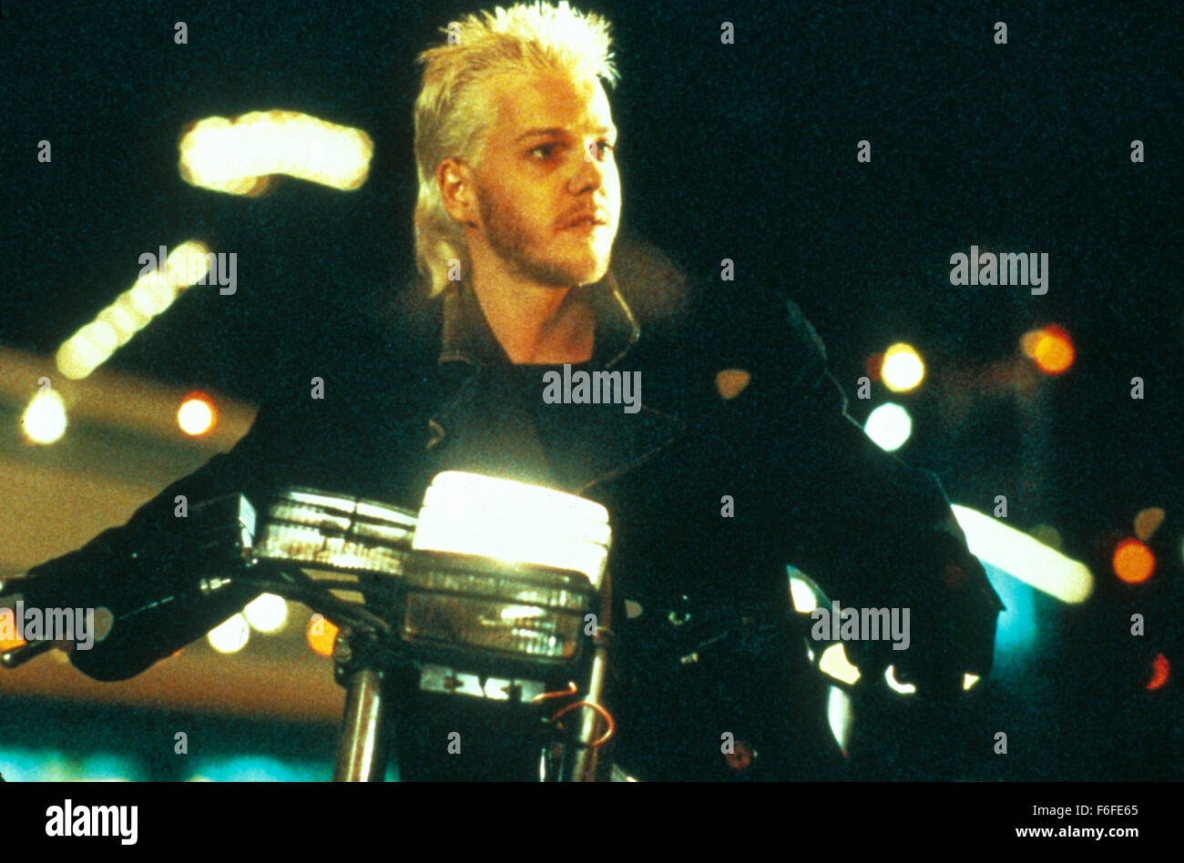 RELEASE DATE: July 31, 1987. Film Title: The Lost Boys. STUDIO: 20th Century Fox. PLOT: Financial troubles force Stock Photo