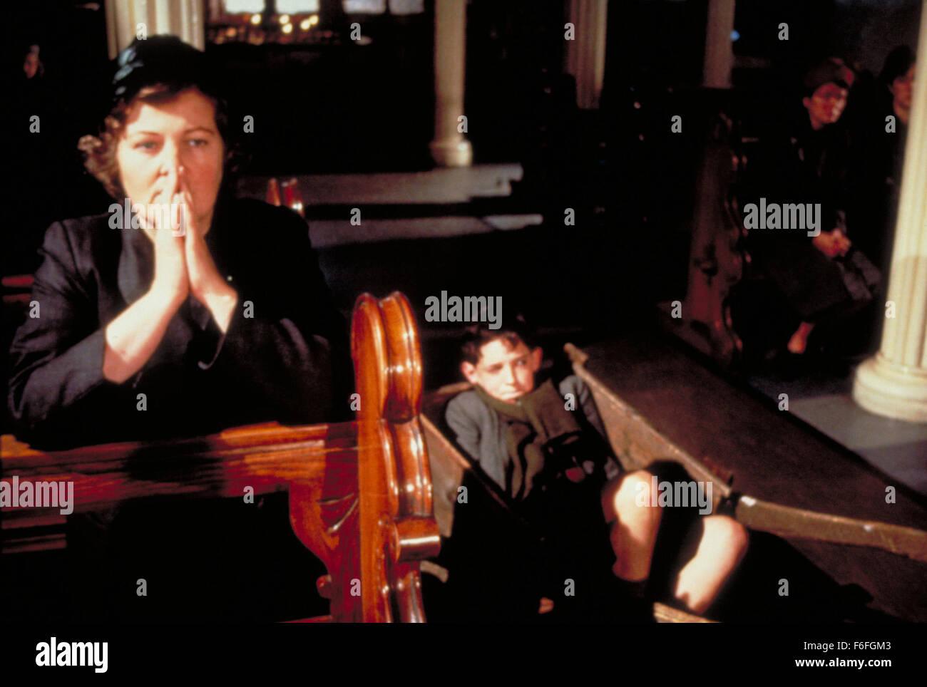 May 06, 1989; Hollywood, CA, USA; Image from director Jim Sheridan's biography drama 'My Left Foot' - Stock Image