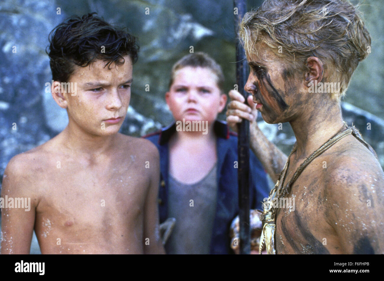 RELEASE DATE: March 16, 1990   MOVIE TITLE: Lord of the Flies   STUDIO: Nelson Entertainment   DIRECTOR: Harry Hook - Stock Image