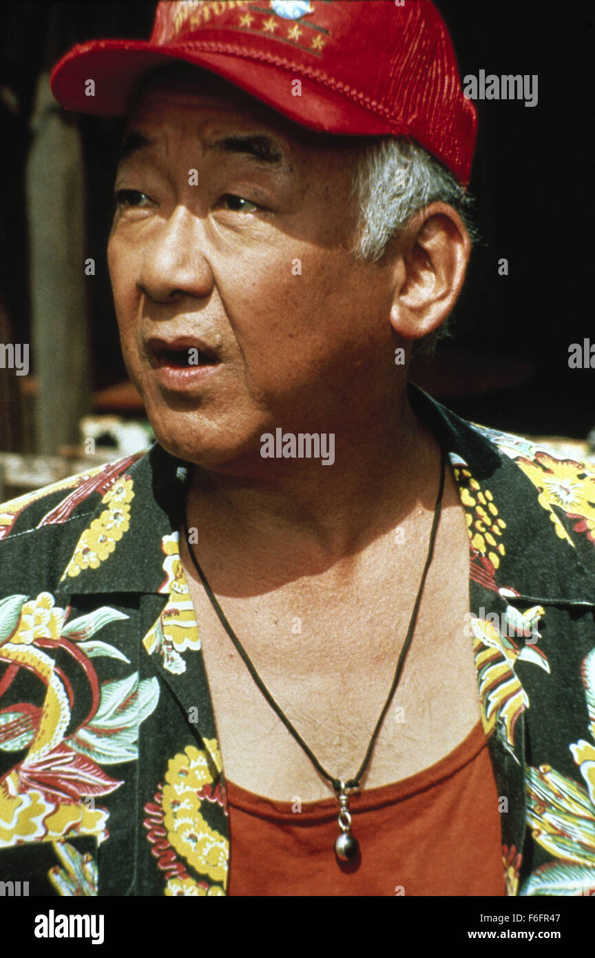 Aug 28, 1992; Las Vegas, NV, USA; Actor Pat Morita As Mahi