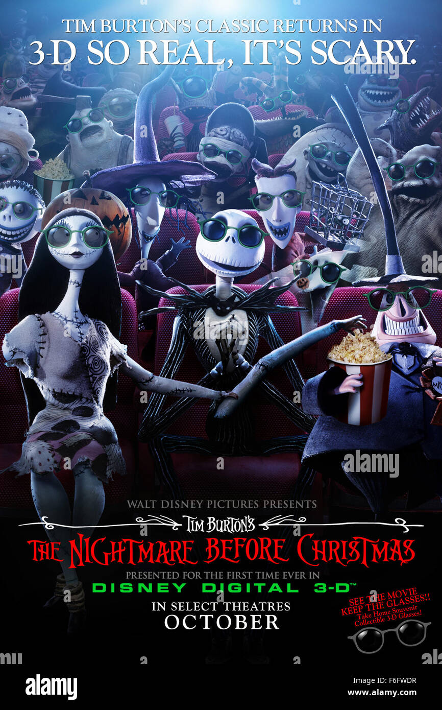 Nightmare Before Christmas Release Date - Christmas Cards
