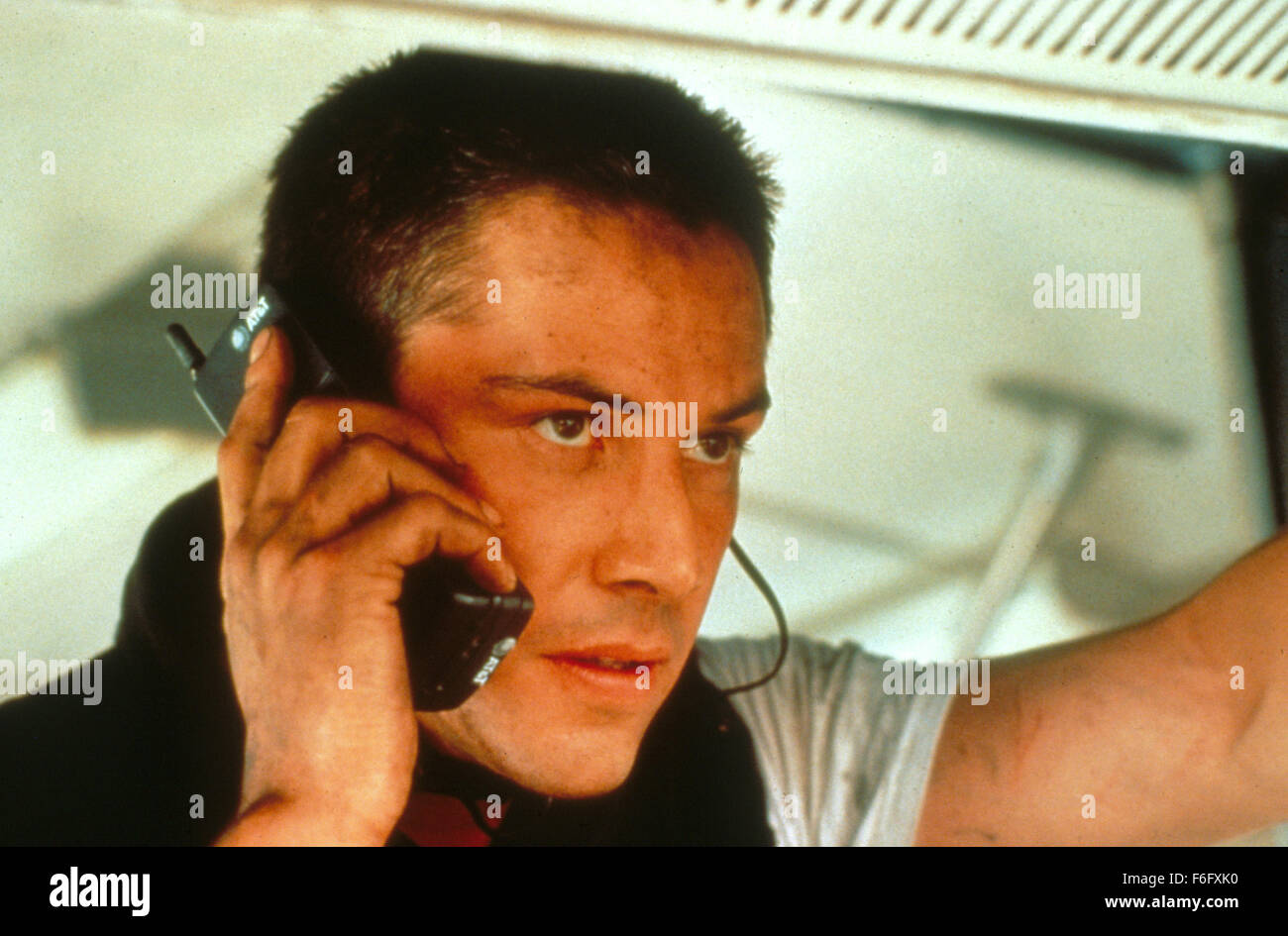 RELEASE DATE: June 10, 1994. Film Title: Speed. STUDIO: 20th Century Fox. PLOT: LAPD cops Jack Traven and Harry Stock Photo