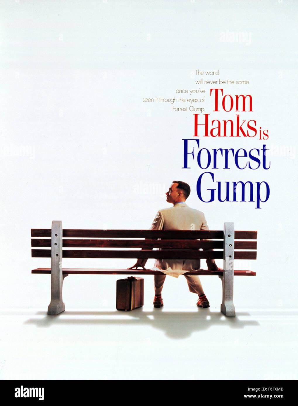 Film Title Forrest Gump Director Robert Zemeckis Studio Stock
