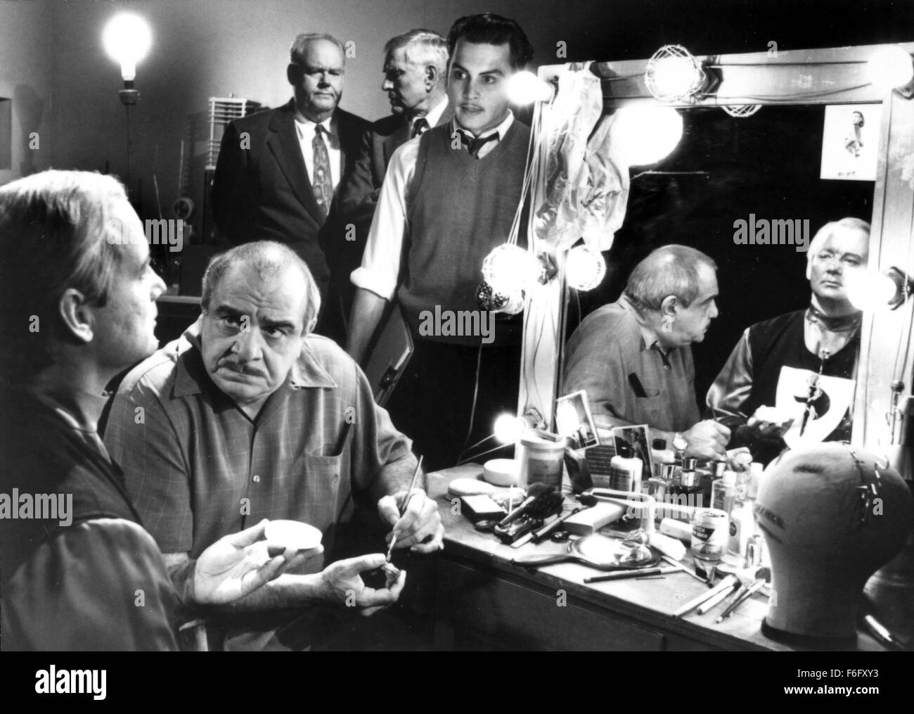 RELEASE DATE: Sep 23rd, 1994. MOVIE TITLE: Ed Wood. STUDIO: Buena Vista Pictures. PLOT: A biopic of the life and - Stock Image